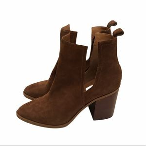 Steve Madden Larini leather ankle boots size 9.5